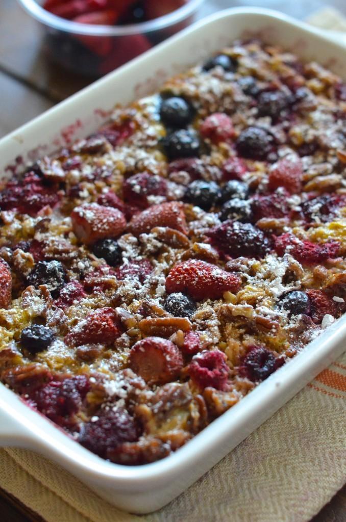 Baked Berry Oatmeal Favehealthyrecipes Com