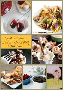 13 Fabulous Sweet and Savory Fondue Recipes, Plus 7 More Party Food Ideas