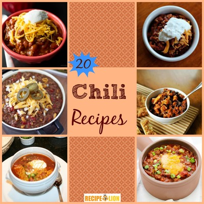 20 Easy Chili Recipes