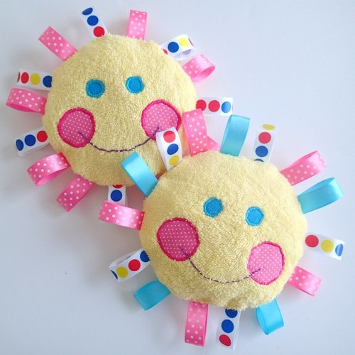 Fabric Baby Blocks Sewing Pattern | AllFreeSewing.com