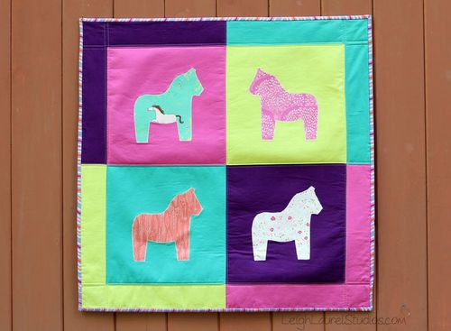 Pop Art Pony Quilt