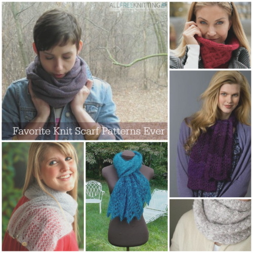 22 Favorite Knit Scarf Patterns Ever