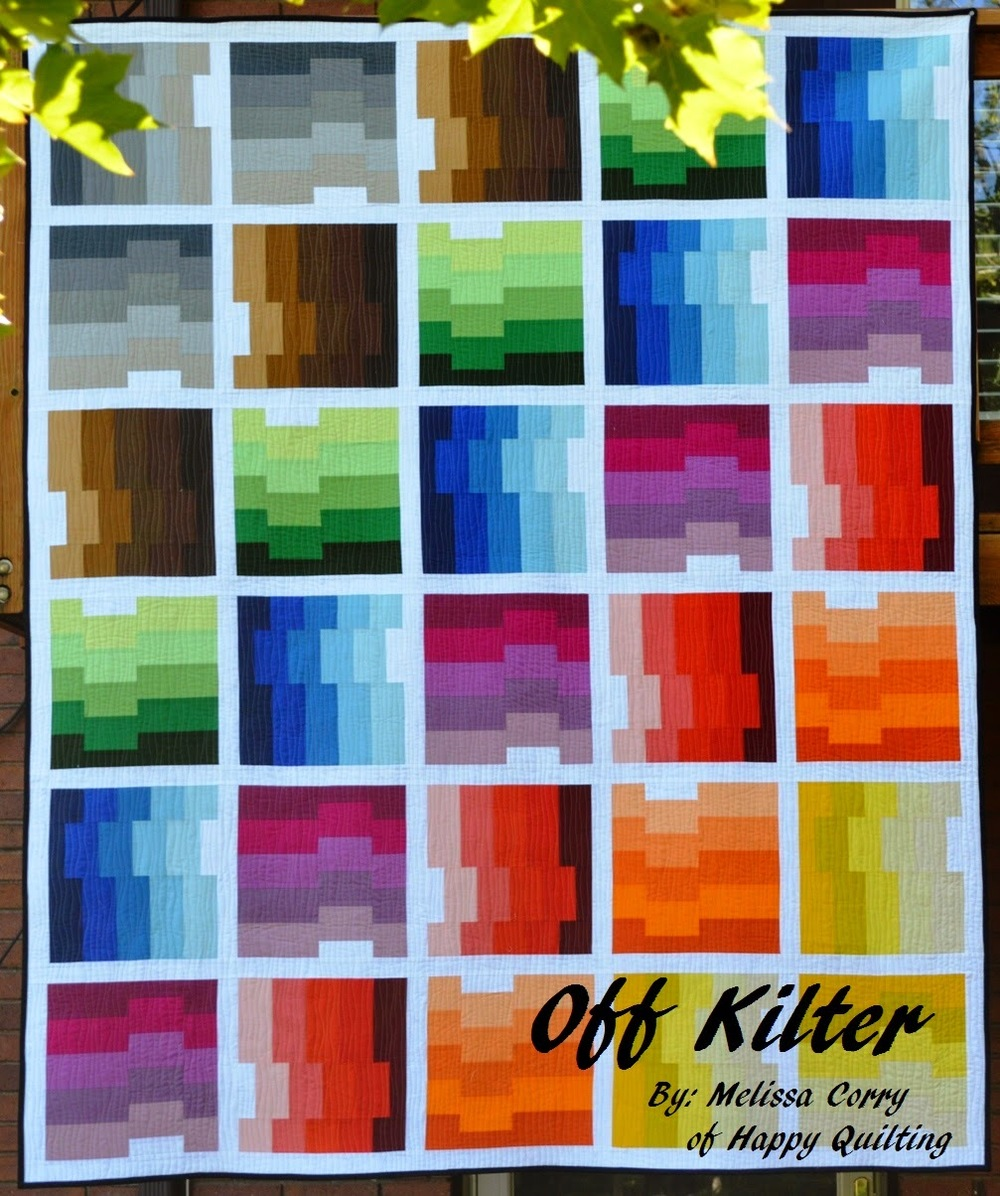 Shades Of The Rainbow Quilt Favequilts Com