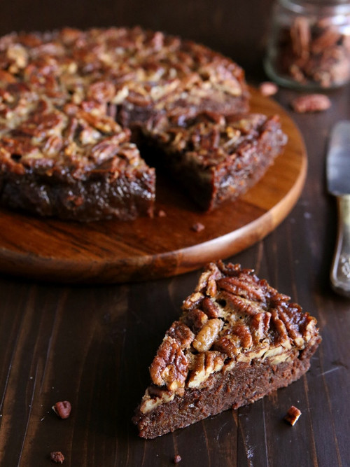 Decadent Pecan Pie Brownies