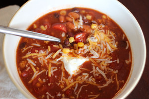Tasty Turkey Taco Soup