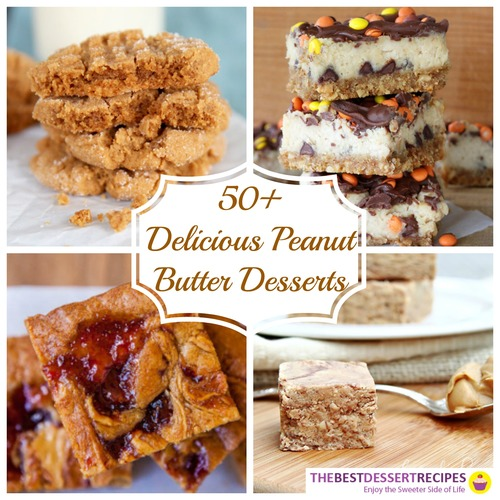 Dessert Recipes with Peanut Butter