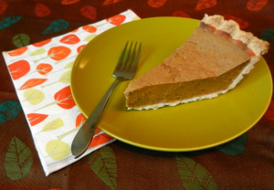 Dreamy Vegan Pumpkin Pie