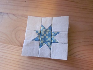 Tiny Wonky Star Block
