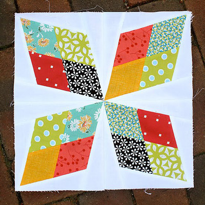 Arkansas Traveler Quilt Block