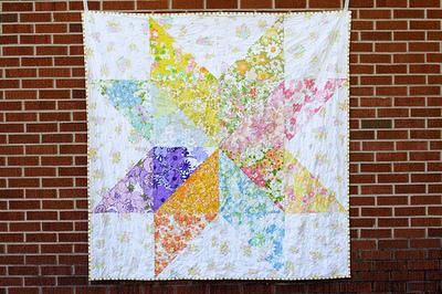 Giant Starflower Quilt Pattern