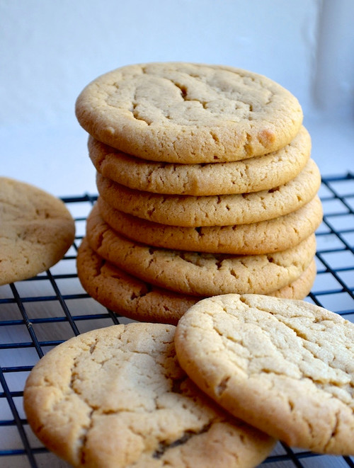 Insanely Soft Peanut Butter Cookies