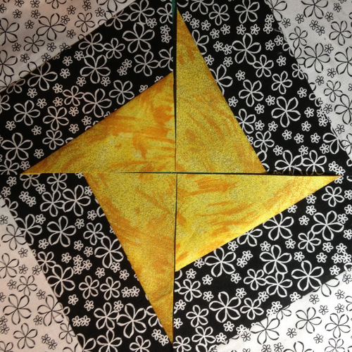 Out of This World Star Quilt Block