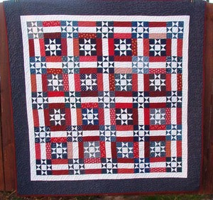 Ohio Stars and Rails Quilt