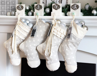 Chic Easy Christmas Stocking Pattern