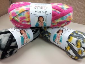 Red Heart Boutique Fleecy Yarn