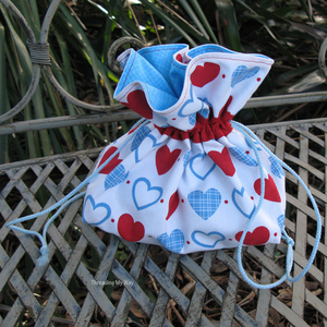 Lovely DIY Drawstring Bag