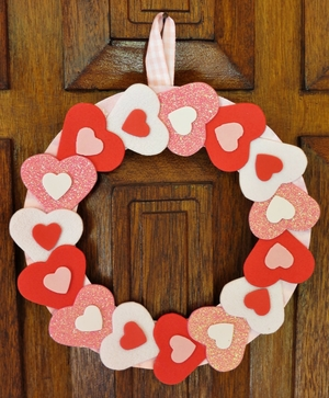 Simply Sweet Valentine Wreath