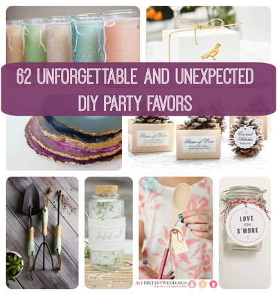 62 Unforgettable and Unexpected DIY Party Favors