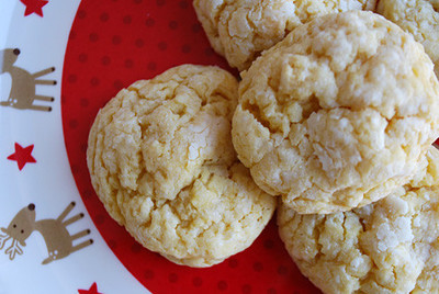 Gooey Butter Cake Mix Cookies