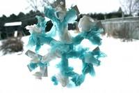 Tissue Paper Snowflake