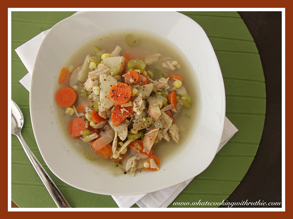 Leftover Thanksgiving Turkey Soup