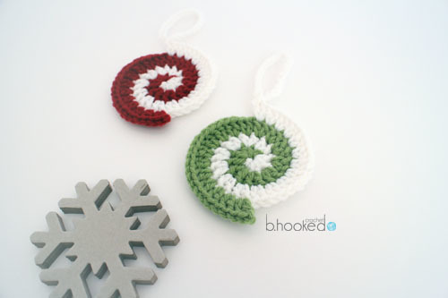 Spiral Crochet Ornament