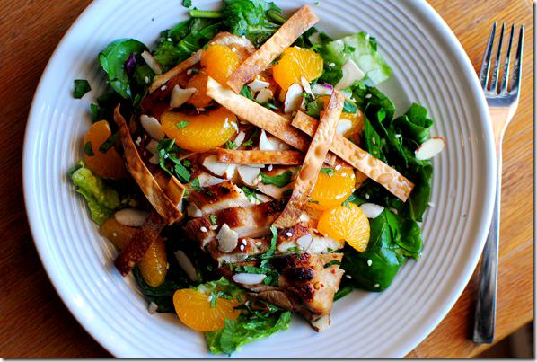 Panera's Asian Sesame Chicken Salad Copycat Recipe