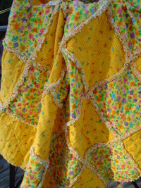 Sunny Baby Rag Quilt