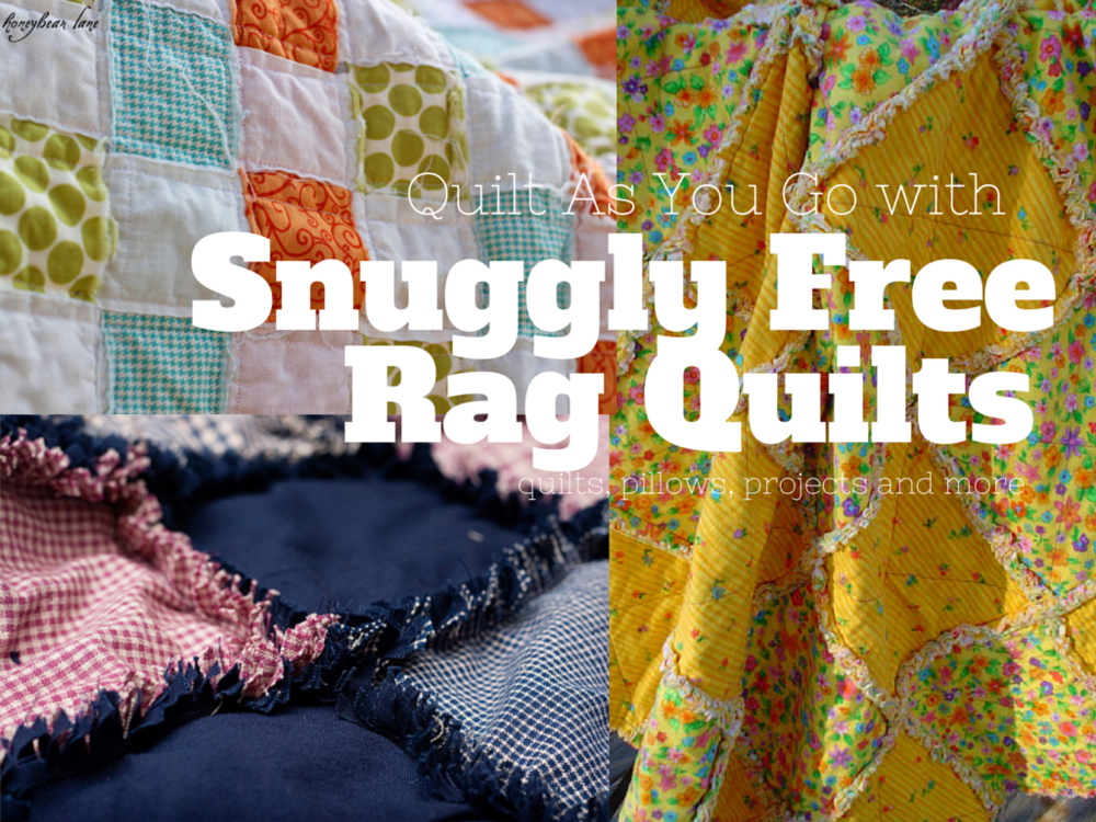 38 Snuggly Free Rag Quilt Patterns Favequilts Com