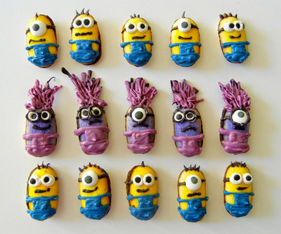 No-Bake Minion Cookies