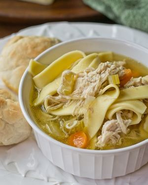 Amish-Style Chicken and Noodles