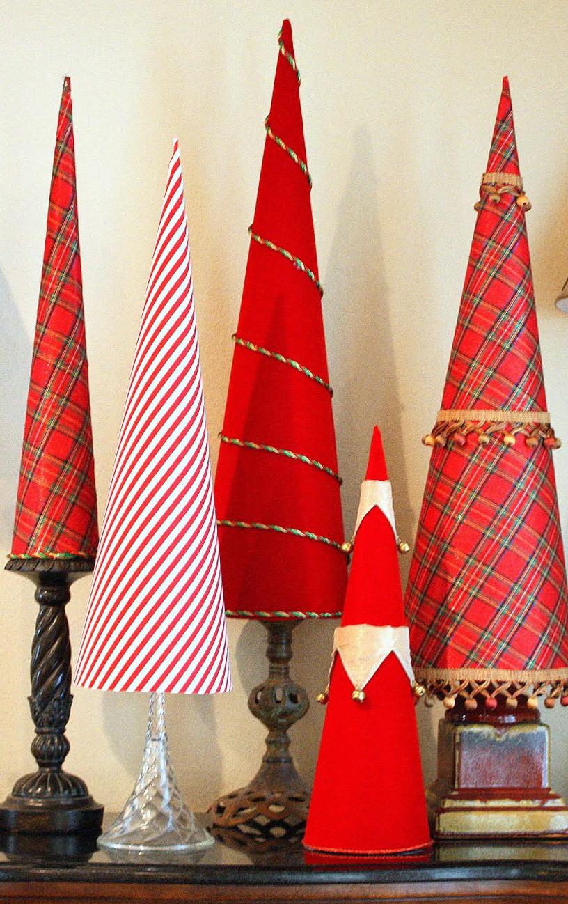 Elegant Christmas Tree Cones Allfreeholidaycrafts Com