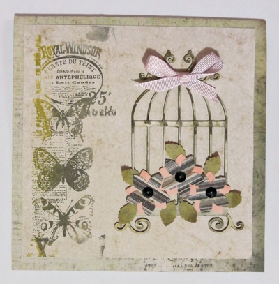 French Country Style Greeting Card