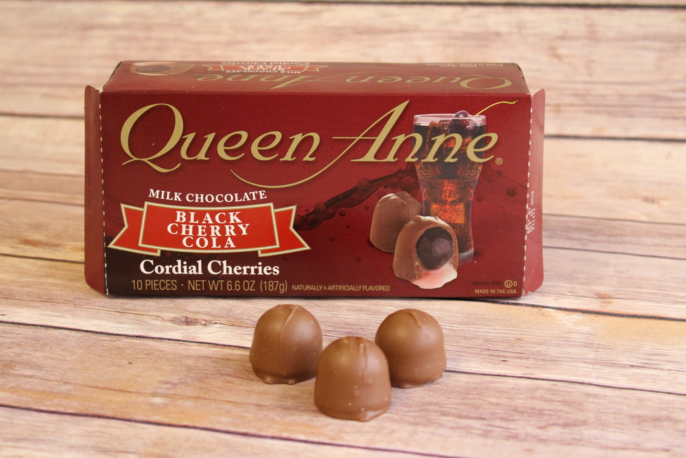 Queen Anne Black Cherry Cola Cordial Cherries Review