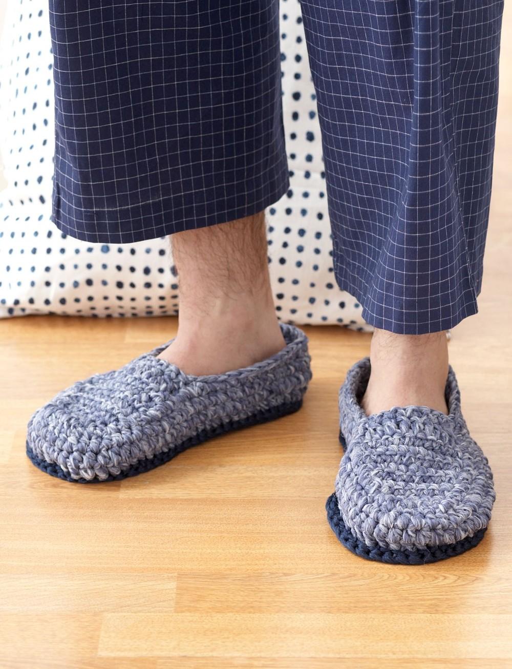 Crochet House Shoes