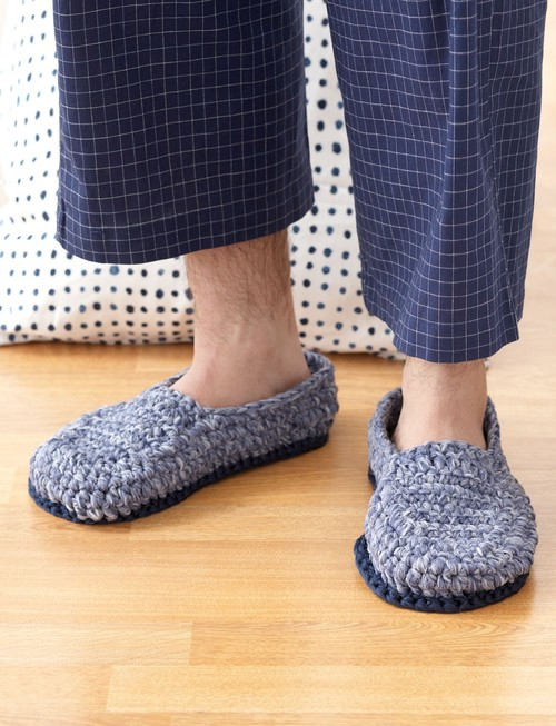 Crochet House Shoes