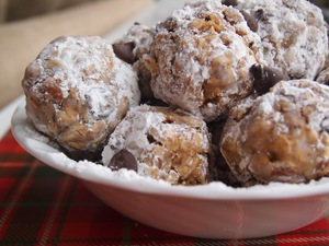 Feel Good Peanut Butter Snowballs