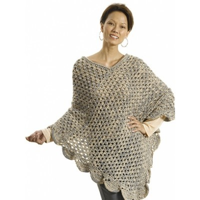 Oversized Lean Poncho
