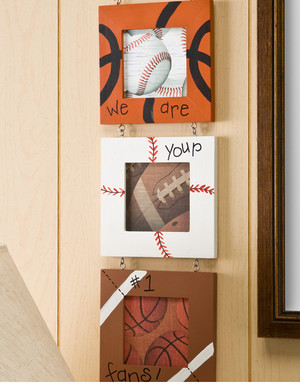 Sports Fan Photo Frames