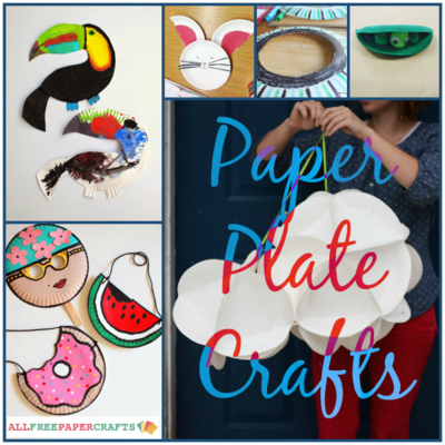 13 Paper Plate Crafts for Kids and Adults