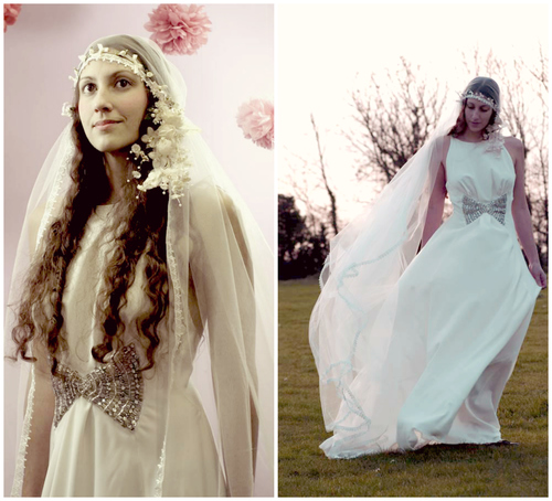 Gorgeous Vintage-Inspired Veil