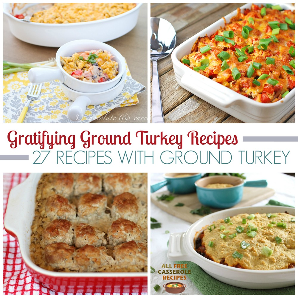 Gratifying Ground Turkey Recipes: 27 Recipes With Ground