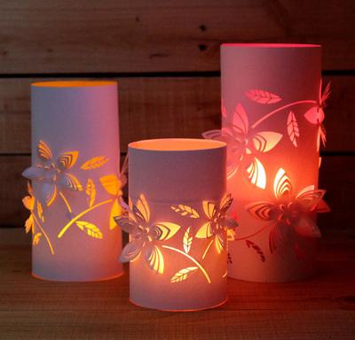 Radiant Light Paper Lanterns Allfreepapercrafts