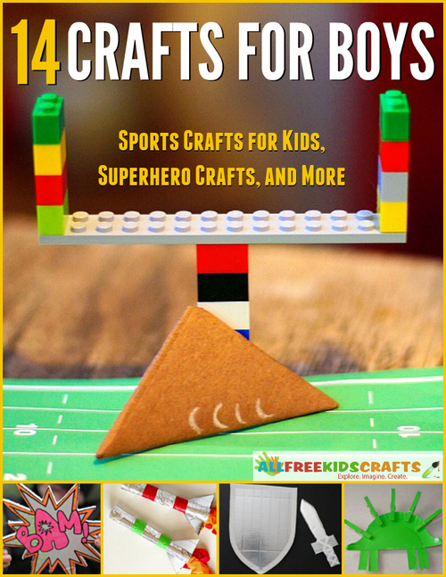 Crafts for Boys eBook