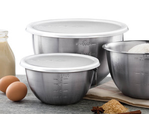Tovolo Set of 3 Mixing Bowls