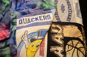 DIY T-Shirt Quilts for Hoarders