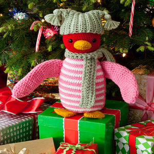 Huggable Holiday Penguin