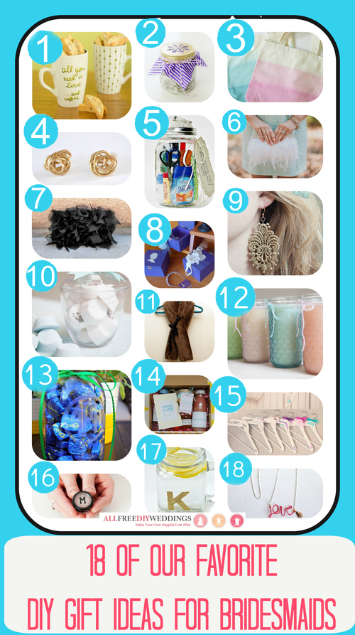 18 of Our Favorite DIY Gift Ideas for Bridesmaids