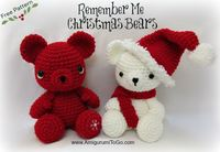 Crochet Christmas Bears