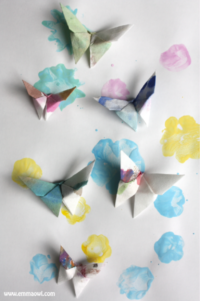 Lovely Origami Butterflies